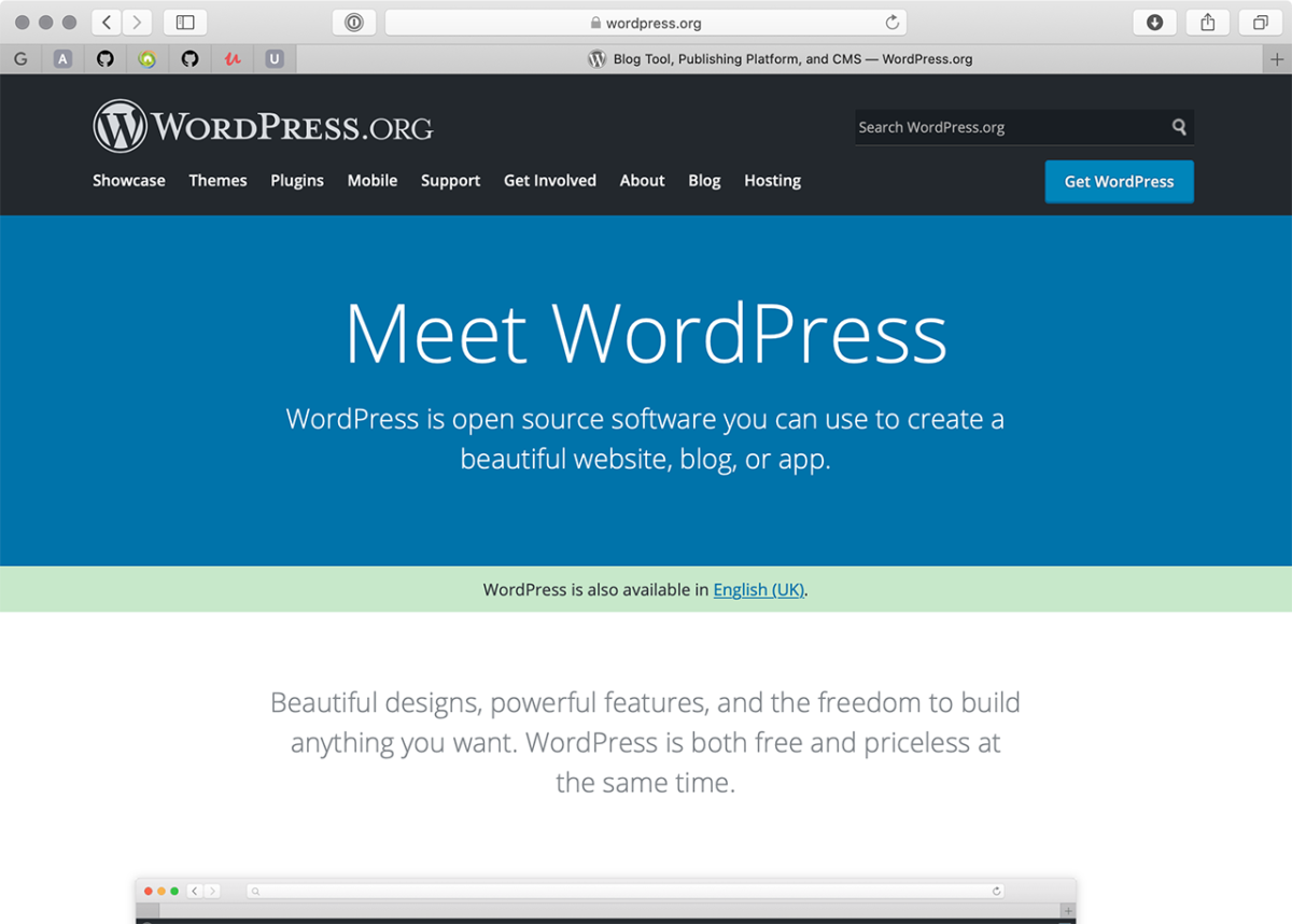 Главная WordPress.org